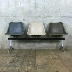 Vintage Robin Day Airport Bench Seats