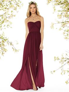 Blood Red Dress Drape Gown For Beach Holiday