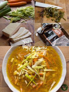 Miso je fermentovaná pasta ze sóji, obilí nebo rýže a je velmi zdravé, protože přispívá ke zdravé mikroflóře našich střev. Nesmí se vařit. P... Thai Red Curry, Ethnic Recipes, Food, Eten, Meals, Diet