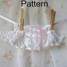 Crochet Lace Baby TuTu Pattern by CielosCloset on Etsy, $5.00
