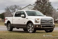 If you are willing to get more from your pickup truck, Ford offers new King Ranch models. As expected, the most noticeable addition is the 2015 Ford Ford Pickup Trucks, New Trucks, Trucks For Sale, Cool Trucks, King Ranch Truck, Ford F150 King Ranch, Michigan, Ford Motor Company, Detroit