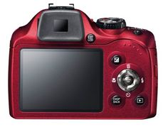 Fujifilm SL300 Matte Red Fujifilm Finepix SL300 14MP Digital Camera with 30x Optical Zoom (Matte Red)