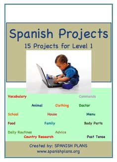 Posters spanish classroom spanish and create 15 spanish 1 projects fandeluxe Image collections