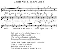 k062.gif (729×629) Hungary, Violin, Piano, Sheet Music, Entertaining, Education, Kitchen, Note, Musica