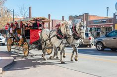 Christmas Carriage Rides Downtown Grand Junction