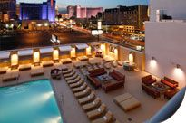 Vegas Vacation  Spend the weekend at the Platinum Hotel and Spa in Las Vegas, a non-gaming, smoke-free, off-the-strip hotel. You'll enjoy a three-night stay in a two-bedroom condo with limo/car service to and from the airports. Please give one week's notice prior to your arrival date. This package is valued at $600.