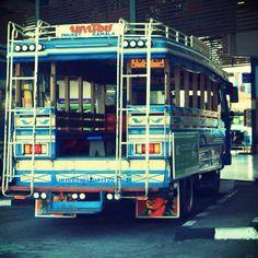 Waiting for passenger, Phuket old town terminal