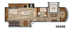 Solitude Fifth-Wheel Floor Plans | Grand Design RV 30