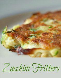 Zucchini Fritters -