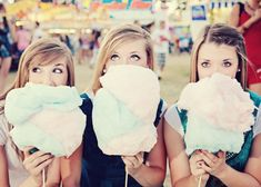 Cotton Candy at the Fair