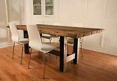 Table manger de 220 cm en bois d acacia non trait et for Table de salle a manger kijiji