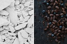 chocolate vs chalk | photo series for Cereal Magazine by Ulf Sane