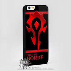 Warcraft Horde Crest For Apple, Iphone, Ipod, Samsung Galaxy Case