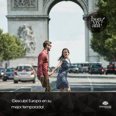 De marzo a mayo el clima templado favorece altamente al turismo en el viejo continente. ¿Y si hacemos un EuroTrip?
