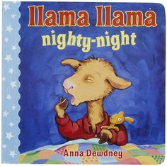 Llama Llama Nighty-Night (Llama Llama Board Books) In a rhythmic, read-aloud tale by the author of Llama Llama Home with Mama, young Llama Llama takes a splishy-splashy bath, puts on his red pajamas and snuggles up with Mama to read bedtime stories. Llama Llama Books, Llama Llama Red Pajama, Lama Lama, Nighty Night, Llamas, Toddler Books, Childrens Books, Teen Books, Toddler Bedtime