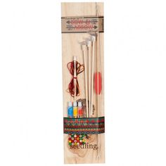 Wooden Bow & Arrow Set