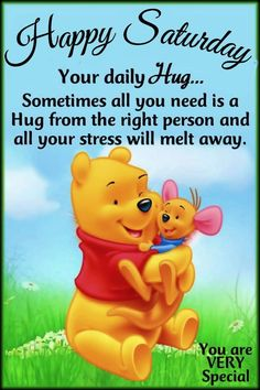 Roo Winnie The Pooh, Winnie The Pooh Quotes, Pooh Bear, Happy Saturday Quotes, Saturday Greetings, Happy Quotes, Weekender, 5sos Quotes, Qoutes