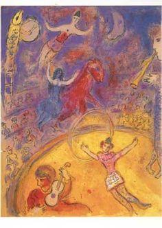 Circus. Postcard