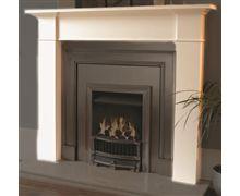 Brompton Wooden Fireplace Mantel