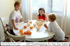 Thanksgiving Kid's Games - Tic tac toe!! ItsOverflowing