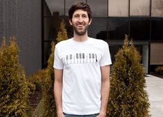 """""""The Pianist"""" - Threadless.com - Best t-shirts in the world"""