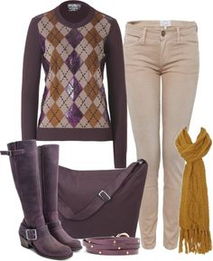 """Purple Fall"" by cdice222 ❤ liked on Polyvore"