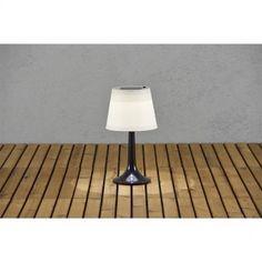 LED Solare Lampada Esterno Lampada da tavolo nero Konstsmide 7109-752 Assisi Decorazione