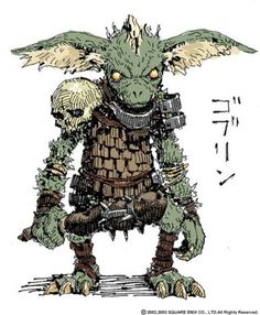 View an image titled 'Goblin Early Concept Art' in our Final Fantasy XI art gallery featuring official character designs, concept art, and promo pictures. Goblin Art, Goblin King, Final Fantasy Xi, Dark Fantasy, Weird Creatures, Fantasy Creatures, Dnd Characters, Fantasy Characters, Fantasy Character Design