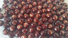60 perles à facettes