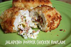 Jalapeno Popper Chicken Roulade - mommylikewhoa.com