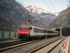 Switzerland's national rail company has begun regular service through the Gotthard Base Tunnel, which at is the world's longest railway tunnel. Rotterdam, National Rail, Train Tunnel, Z New, Switzerland, History, World, Base, People