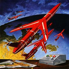 Northrop Aircraft Incorporated, 1958  Chuck Kuderna  (1921-1981)