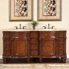 Manhattan 72 Double Sink Vanity by Mission Hills These two are