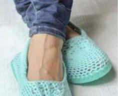 Flip Flop Crochet Slippers Free Pattern
