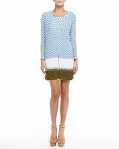 Colorblock+Knit+Cardigan+&+Dress+Set+by+Missoni+at+Neiman+Marcus.