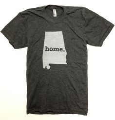 The Home. T - Alabama Home T, $25.00- Support your home state and the fight against Multiple Sclerosis!