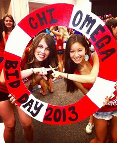Nautical bid day theme ΔNCHORΖ AWAY! IT'S BID DAY! @Lauren Davison Scutt
