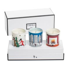Holiday Votive Trio