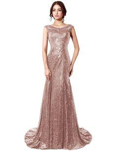 67cbfc8113 Amazon.com  Clearbridal Sequin Long Burgundy Evening Gown For Women Formal  CSD197BG-US12