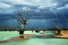Today's photo was taken by Julie Fletcher. The photo is taken of Lake Menindee in South Wales, Australia.