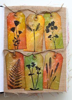 Art journal page by Rachel Greig in a Dina Wakley Media journal