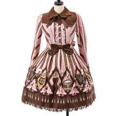 カルテッドショコラワンピース ゴスロリ・ロリータファッション服の通販はワンダーウェルト