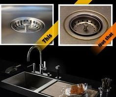 www.houzz.com/... UC-SS-SPL-D1 16 Gauge UltraClean Undermount. Large rubber vibration pads on all sink walls and bottom.