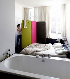 Felt Room Dividers from Buzzispace | Apartment Therapy