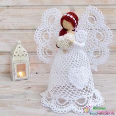 Предлагаем связать к рождеству ангелочков. / Модное Настроение