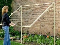 Austral Standard 28 Fold Down Clothesline Video Guide Folding Clothes Line, Outdoor Clothes Lines, Patio, Backyard, Laundry Rack, Home Improvement Companies, Large Frames, Making Life Easier, Gardens