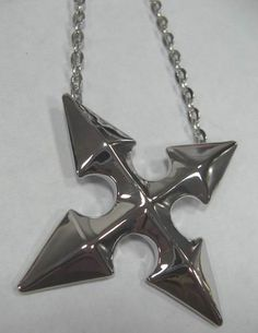 2 kingdom hearts sora crown roxas cross necklaces new kingdom kingdom hearts necklace khnl4230 aloadofball Images