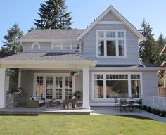 Back of house exterior architecture details. Back of house exterior plans. Back…