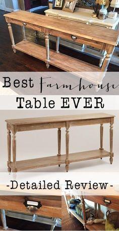 The Perfect Farmhouse Table - House of Hargrove