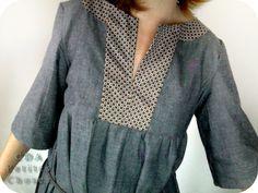 6d905f2d071b5a petites choses: Blue jean pour le D13 Stylish Dress Book, Stylish Dresses,  Japanese